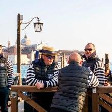 Gondolieri Venice