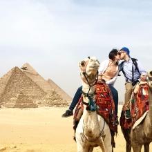 Giza Pyramids Egypt-3